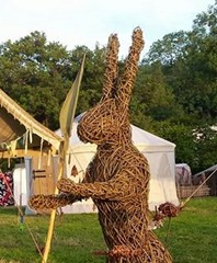 Boxing Hare Sculptures